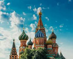 russian culture st basils cathedral against sky