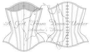 Corset Pattern Inspiration Custom Underbust Corset 48 Panel Pattern On Storenvy