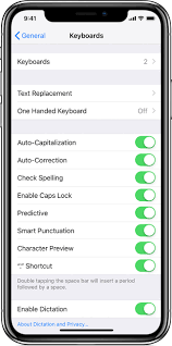 about the keyboards settings on your iphone ipad and ipod touch