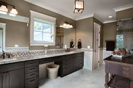 bathroom crown molding. Bathroom Crown Molding Transitional With Brown And White Undermount Sinks L