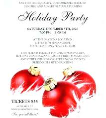 Holiday Flyer Template Word Holiday Flyer Template Upscale Sale For Psd Sammaley