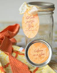 Cute Jar Decorating Ideas Apron In A Jar Gift Favor Ideas From Evermine 77