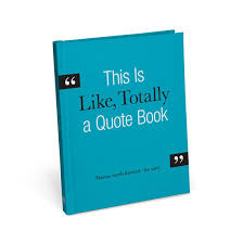 Quote Book Extraordinary Knock Knock This Is Like Totally A Quote Book KnockKnockStuff