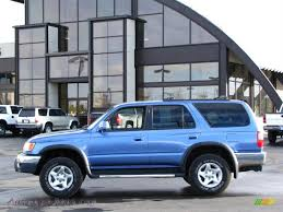 1999 Toyota 4Runner SR5 4x4 in Horizon Blue Metallic photo #11 ...