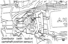 chevrolet truck s p u wd l fi ohv cyl repair guides the cmp sensor is built into the distributor 1 8l engine shown