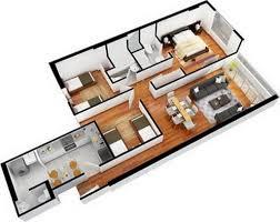Two Bedroom Apartment Design Ideas  RedPortfolio - Interior designing of bedroom 2