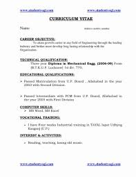 It Resume Format Unique How To Write A Uk Template Noti Sevte