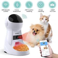 <b>3L Automatic Pet Feeder</b> With Voice Record – Only Lush