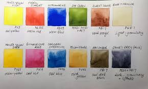 12 Colour Palette Suggestions Jane Blundell Artist