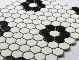 hexagon bathroom floor tile design ideas