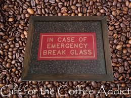 picture of gift for coffee addicts how to make a shadow box