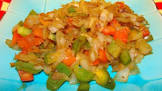 acadia s bell pepper onion stir fry
