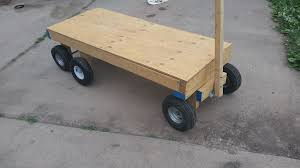 picture of 6 wheel garden wagon