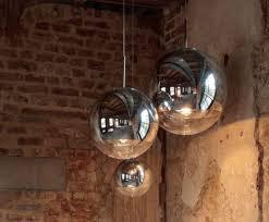 Tom Dixon Mirror Ball Pendant Light Mirror Ball Range Round Pendant System From Tom Dixon