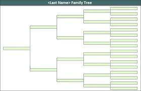 Excel Templates Family Tree Free Family Tree Template