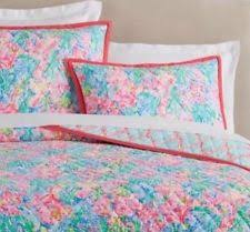 lilly pulitzer bedspread. Brilliant Lilly Lilly Pulitzer Fan Sea Pants Reversible Quilt  King New To Bedspread R