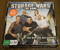 Storage Wars The Game Board Game Review and Instructions  Geeky Hobbies