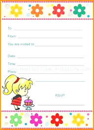 Design Your Own Birthday Party Invitations Create My Own Birthday Invitation Make Free Birthday Cards Print Out