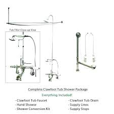 clawfoot tub drain kit bathtub drain plumbing bathtub overflow drain installation us1me