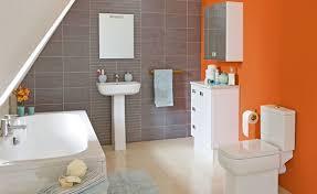 40 Cool Orange Bathroom Design Ideas DigsDigs Interesting Orange Bathroom Decorating Ideas