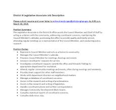 Cover Letter For Chief Of Staff Position