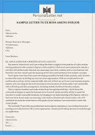 Cover Letter To Former Employer Pin By Lettersamples Personal On Personal Letter Samples