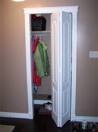 finished installation of closet door