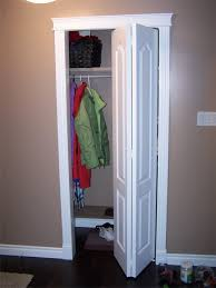 finished installation of closet door