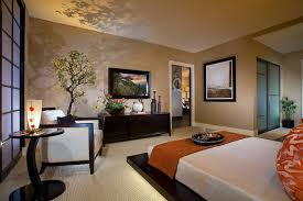 Bedroom Decorating Ideas within Japanese Style