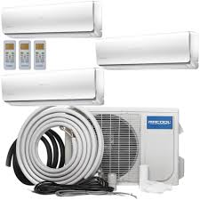 Heat And Cooling Units Ramsond 24000 Btu 2 Ton Ductless Mini Split Air Conditioner And