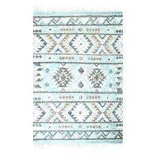 aqua turquoise blue tribal area rug 5 x 8 global ethnic pink and rugs print style