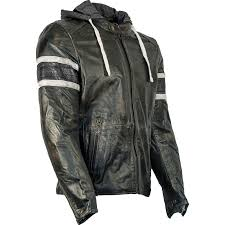 richa toulon leather motorcycle jacket biker urban retro