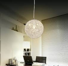 ball chandelier lights crystal ball chandelier pendant light lamp modern glass ball pendant chandelier