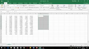 How To Un Select Cells In Excel Using Matlab To Create A