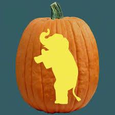 Elephant Pumpkin Carving Pattern Enchanting Republican Elephant No Lie I Wish I Did This Elephants
