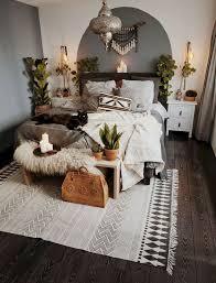 bohemian style modern bedroom ideas