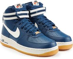 nike air force 1 mid 07 leather high top sneakers