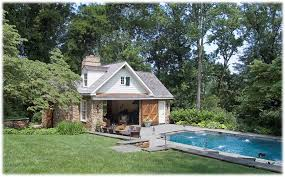 Cozy Small Pool House Design  CourtagerivegauchecomSmall Pool House Designs