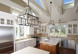 vaulted ceiling lighting ideas skylights large chandeliers contemporary kitchen cathedral ceiling lighting ideas