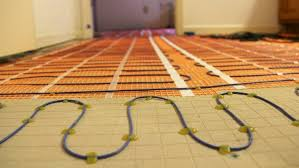 photo 5 of 10 radiant heating coil system installation in bathroom floor exceptional tile floor heat 5