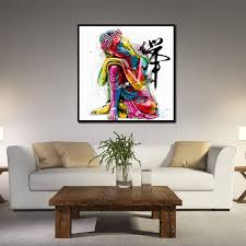 oil painting large canvas modern