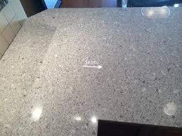 caesarstone quartz seam