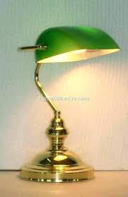 bankers desk lamp bankers desk lamp green glass shade antique stylish reading lamps banker china
