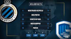 Club brugge score 7 goals in the last 5 games, and genk score 13 goals in the last 5 games. Club Brugge Krc Genk Club Facts Club