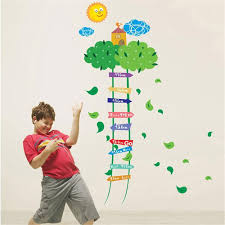 Child Height Chart For Wall Buy Kids Child Height Chart Measure Tape Wall Stickers