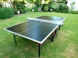 top star outdoor in ping pong table parts kettler folding 1 2 square wood tennis
