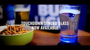 Bud Light Glass Light Up Bud Light Nfl Touchdown Glass Bluetooth