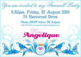 Farewell Invitation Template The Farewell Party Invitation Templates Egreeting Ecards 21