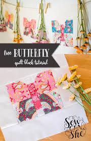 Classic Blocks: Fresh Fabric... a Butterfly Quilt Block Tutorial ... & Classic Blocks: Fresh Fabric... a Butterfly Quilt Block Tutorial —  SewCanShe | Free Sewing Patterns for Beginners Adamdwight.com