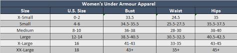 Under Armour Youth Small Size Chart Www Bedowntowndaytona Com